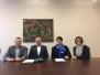 """Zawarcie """"Porozumienia o współpracy"""" pomiędzy Wydziałem Górnictwa i Geoinżynierii AGH, a firmą Master - 19.12.2017 rok"""